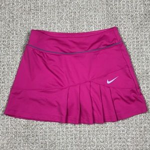 Nike Dri Fit pleated pink tennis skirt size small